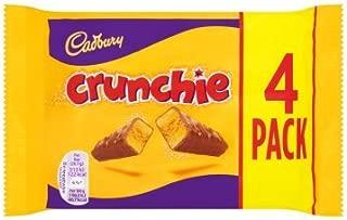 Cadbury Crunchie Milk Chocolate With Honeycomb Center 4 Pack