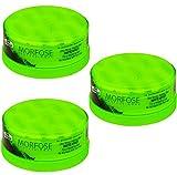 Morfose Hair Styling Matte Strong Wax 3x 150ml No.2 / Haarwachs / Matt-Haar-Wax / Extra Mattierung / Styling-Wax / Hair-Forming-Cream-Wax / Matt-Haar-Wax / Vorteilspack / flexibeles stylen