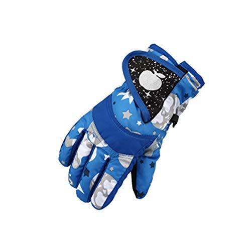 Zuoyue Skihandschuhe für Kinder wasserdichte und Winddichte Winterhandschuhe Warm Sporthandschuhe Snowboard Handschuhe für Outdoor-Sport in Winter Fahrradhandschuhe Warme Handschuhe