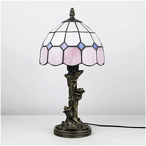 Lámpara de mesa tiffany lámpara de noche lámpara de dormitorio al por mayor retro estudio lámpara iluminación eBay amazon-