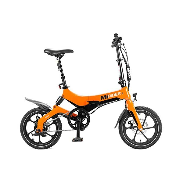 BMX Bikes MiRiDER One – Folding Electric Bike (2020 Edition) – Lightweight Foldable Compact eBike For Commuting & Leisure – 16…