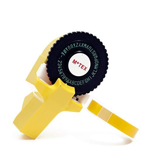 Etichettatrice a rilievo tipo dymo E101 (giallo)