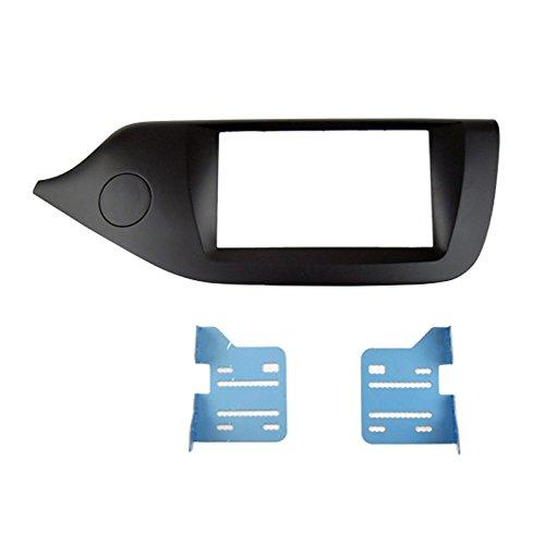 Feeldo 2DIN Voiture Refitting Façade Cadre de radio DVDstéréo support de tableau de bord d'installation d'Trim Kit