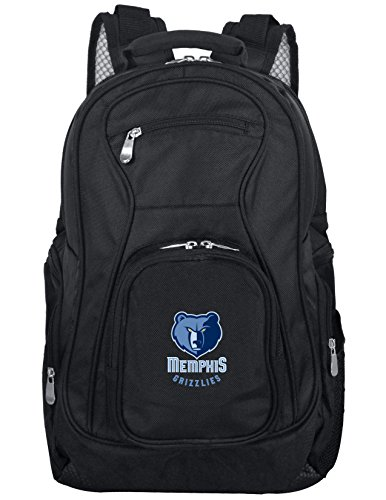 Denco NBA Memphis Grizzlies Voyager Laptop Backpack, 19-inches, Black