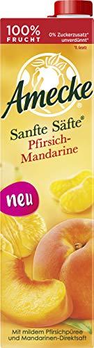 Amecke Sanfte Säfte Pfirsich-Mandarine 6x1l