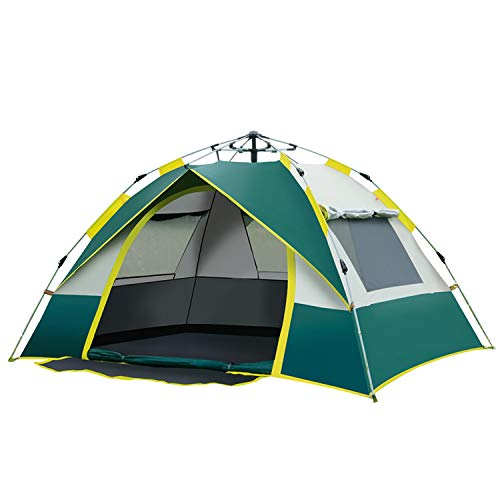 Automatic Camping Pop-Up Tent, 2-3 Person Persons Lightweight Tent Tents 190T Waterproof Dome Tent Large Family Tent with Carrying Bag / 210X200x135cm