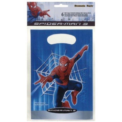 Die Ideenwelt 6 Spiderman Geschenktaschen