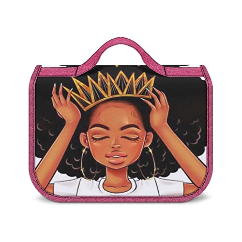 Neceser Colgante Chica Negra con Una Estuche De Maquillaje Contenedor De Tamaño Completo para Accesorios De Viaje