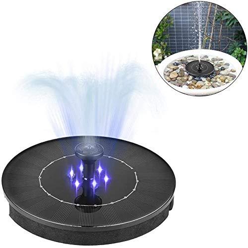 Hoodie - Bomba solar para estanque de pájaros y estanque (sumergible, para estanque, piscina, jardín, acuario)