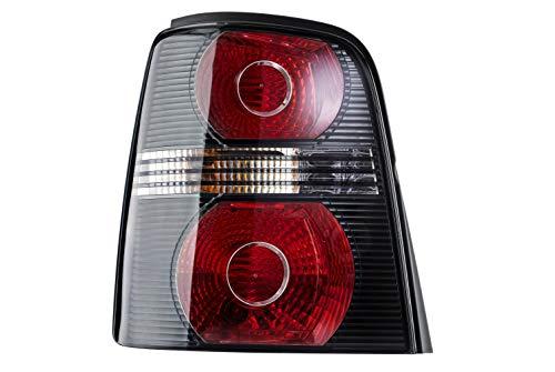 HELLA 2SK 009 477-091 Feu arrière - Illumination - noir - gauche - für u.a. VW Touran (1T1, 1T2)