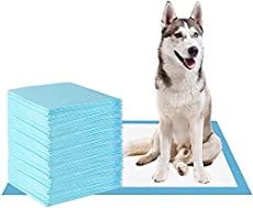KIHKIH Dog Training Pad Puppy Training Pad Training Pad for Pet Puppy Pads Pet Training Pads Training Pads for Dogs Extra Large (S (1318), 100 Pads)