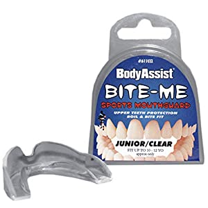 Body Assist Bite-Me Sports Mouthguard, Clear by Bodyassist Health and Wellness Pty Ltd