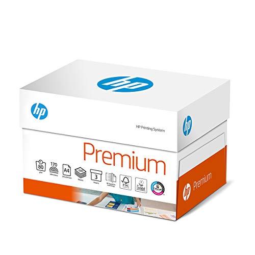 HP TrioBox CHP850 Premium - Papel para impresora (80 g, A4, 1500 hojas (3 x 500), extra suave, color blanco
