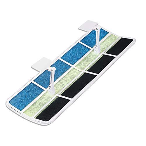 ZXXL Aire Acondicionado Deflector de Viento Oficina en Casa Deflector de Aire Acondicionado para Aire Acondicionado Central de Techo, Ángulo Ajustable, Golpe Anti-Recta, Material ABS