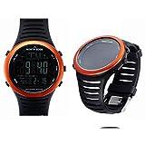ANZQHUWAI Angeln Altimeter Barometer Thermometer Höhe Männer Smart-Digital-Uhren Sport Klettern...