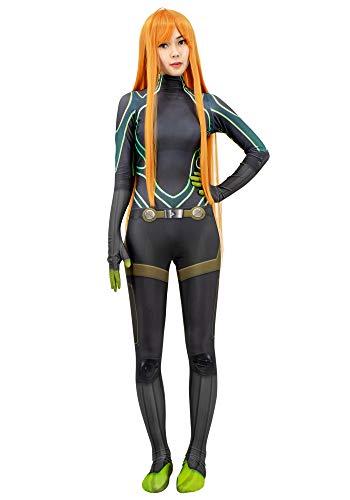 C-ZOFEK Futaba Bodysuit 3D Printed Womens Cosplay Costume Jumpsuit (Medium)