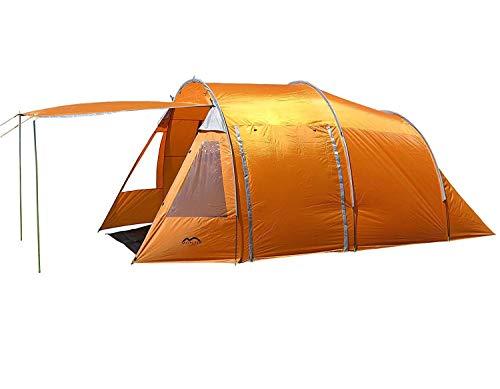 Montis HQ Wyoming Ranch - Tienda campaña Familiar 4 plazas - 470 x 250 cm, 8 kg