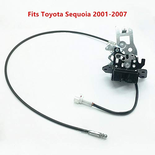 931-861 For Toyota Sequoia Lift Gate Lock Latch 69301-0C010 Power Door Lock Actuator 693010C010 Back Lock Sub-Assembly Door Lock Actuator with Cable Assembly 64680-0C010 Fits Toyota Sequoia 2001-2007