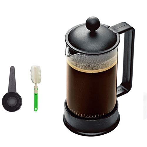 Coffee Tea Maker, Dik Duurzaam Hittebestendig Glas, Het filter blokkeert het residu en geeft je originele smaak van koffie, Perfect voor de ochtend