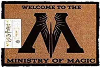 Harry Potter Ministry of Magic Welcome Man Cave Door Mat