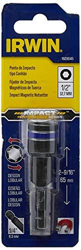 IRWIN Ponta de Impacto Tipo Canhão para Parafusadeira de 1/2 Pol. x 65,1mm (12,7mm x 65,1mm) 1929045