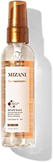 MIZANI Thermasmooth Smooth Guard Smoothing Serum   Protects Against Heat Damage   with Coconut Oil   for Curly Hair   3 Fl Oz