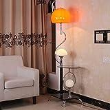 H.yina Table Basse de Mode en Verre Lampe de Sol Simple Salon Chambre éclairage...