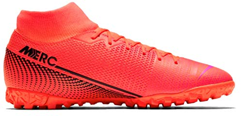 Nike Herren Superfly 7 Academy TF Fußballschuhe, Rot (Laser Crimson/Black-Laser Crim 606), 45.5 EU