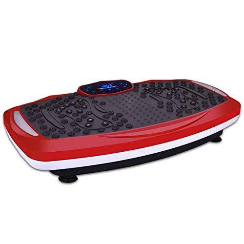 B/H Plataforma Vibratoria 3D para,Máquina de Levantamiento de Pesas de pie, máquina de Fitness Perezosa-B,Plataforma Vibratoria Ultra Slim