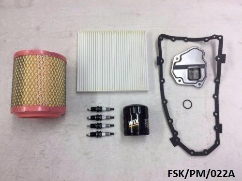 Wix Petite double Platinum kit de service Calibre 2.0l & 2.4l 2011–2012 CVT Transmission