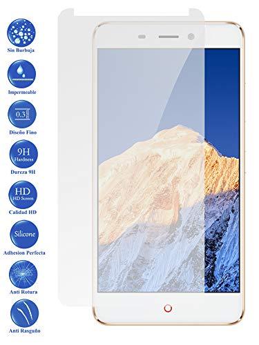 Todotumovil Protector de Pantalla ZTE Nubia N1 5.5 de Cristal Templado Vidrio 9H para movil