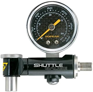 Topeak Shuttle Air Pressure Gauge Dial with Case