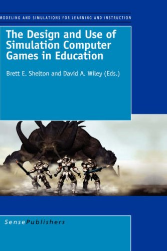 THE DESIGN AND USE OF SIMULATION COMPUTER GAMES IN EDUCATION (Modeling and Simulation for Learning and Instruction)