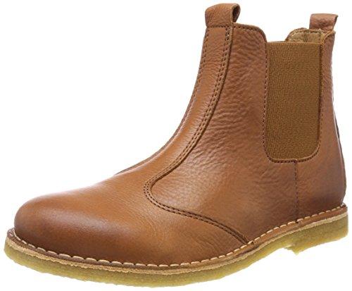 Bisgaard Unisex-Kinder Stiefelette Chelsea Boots, Braun (Cognac), 37 EU