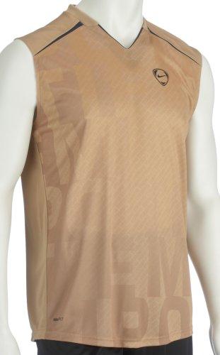 Nike Heren Tiempo Dri-Fit Mouwloos Hardlopen Sport Vest Tank - Gym Singlet S - 2XL
