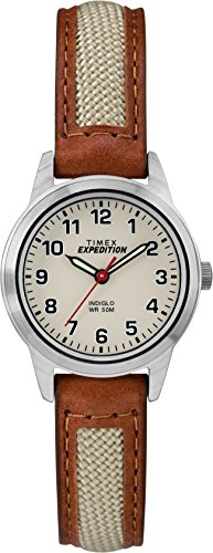 Timex Women's Expedition Field Mini 26 mm Leather Strap Watch TW4B11900
