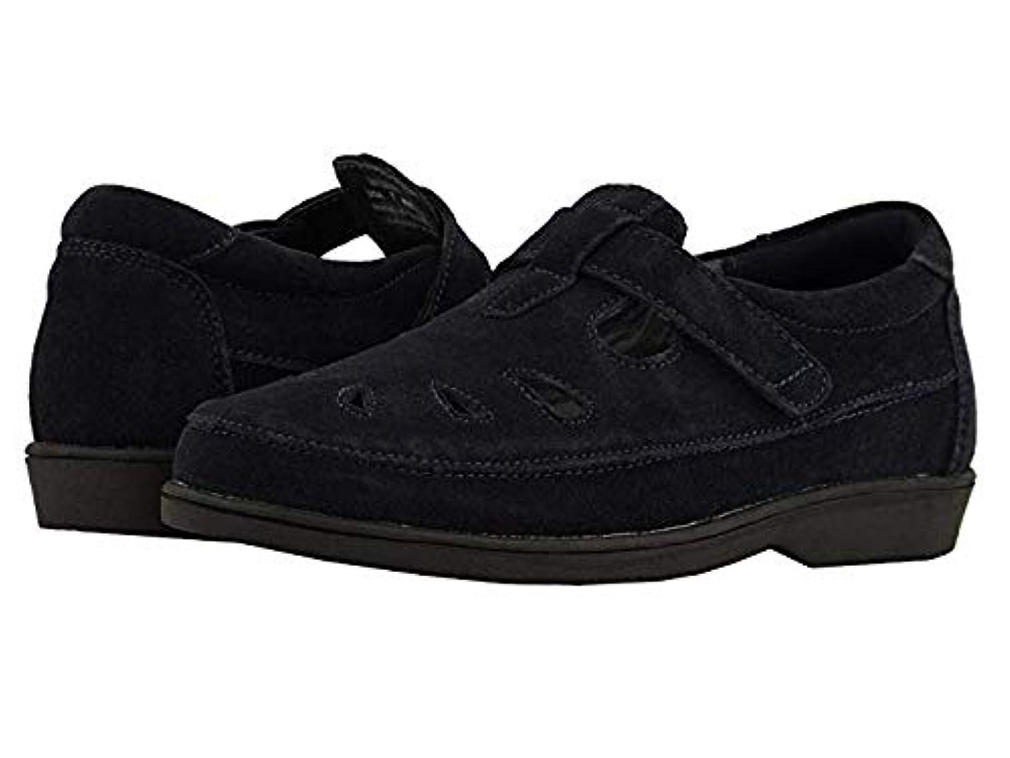渇きオプションディスク[プロペット] レディースローファー?靴 Ladybug Navy Suede (27.5cm) M (B) [並行輸入品]