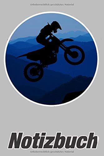 Notizbuch: Motocross Cross Dirt Bike - Notizbuch mit 140 linierten Seiten