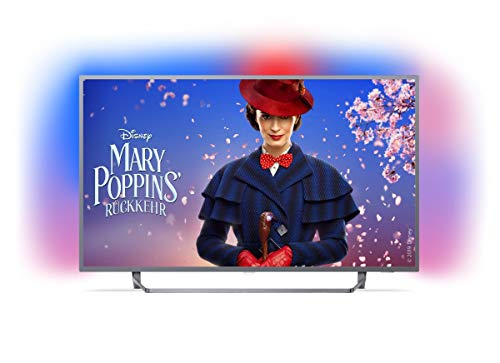 Produktbild von Philips Ambilight 65PUS7303/12 Fernseher 164 cm (65 Zoll) Smart TV (4K, LED TV, HDR Plus, Android TV, Micro Dimming Pro, Google Assistant) Dunkelsilber