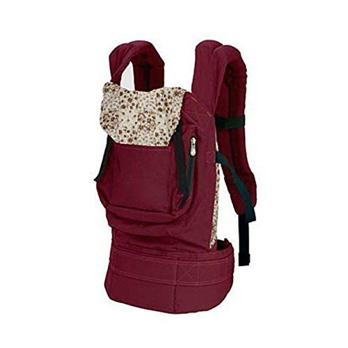 OrangeTag Cotton Baby Carrier Infant Comfort Backpack Buckle Sling Wrap Fashion,Red