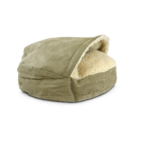 Snoozer Luxury Cozy Cave Pet Bed, Small, Peat