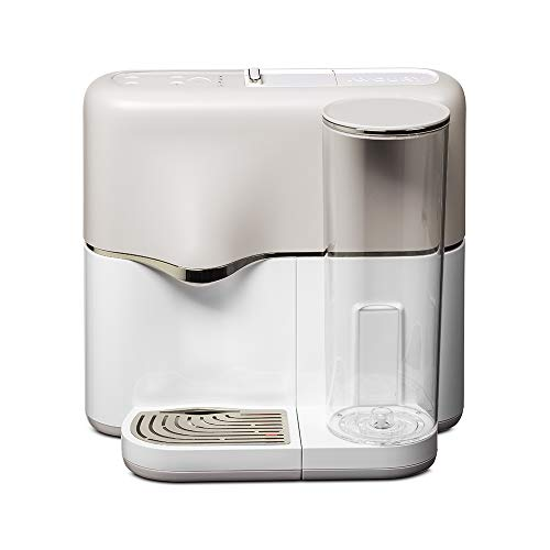 AVOURY One Teemaschine + Tee Discovery Set: Tee-Kapselmaschine, inklusive Wasserfilter und 8 Bio-Teesorten in Kapseln, Farbe: Silver-White
