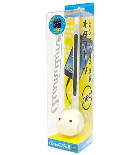 Otamatone 'Neo 10th Anniversary Special Edition [Japanese Version] White - Japanese Electronic Musical Instrument Synthesizer