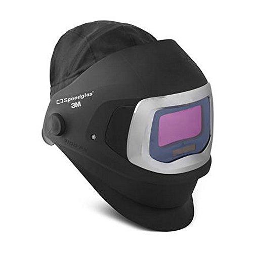 3M 00051131496736 Speedglas 9100FX Welding Helmet, Black/Silver