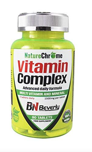 Multivitaminas para hombre y mujer. Vitaminas para el cansancio. Complejo vitamínico de consumo diario. Reduce la fatiga y ayuda a un mayor rendimiento deportivo. Contiene 90 tabletas.