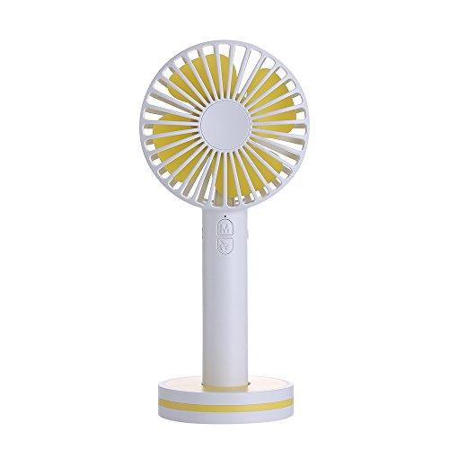 Z-GJM ventilator op het bureaublad met mini-USB-ventilator, creatieve stille ventilator, het aerodynamische design kan 360 graden wind absorberen en voor een sterke en zachte bries zorgen D