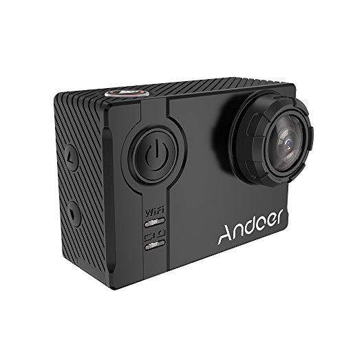 """Andoer AN7000 4K 1080P 120fps 720P 240fps Full HD Adottano per Ambarella A12S75 16MP WiFi Anti-shake Immersioni Subacquee Impermeabile 60m 2.0 """"LCD 166 ° Obiettivo Grandangolare Sport DV Cam"""