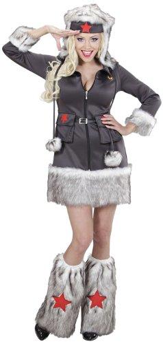 Widmann 02153 - Erwachsenenkostüm Nikita, Kleid mit Hut und Stulpen