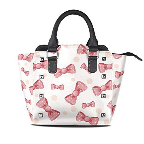 Malpela Handtasche für Mädchen, mit Schleife, Rot