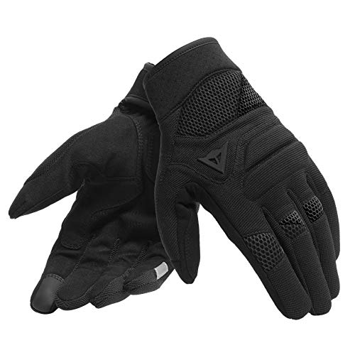 Dainese Fogal Unisex Motorcycle Gloves, Black, Size M
